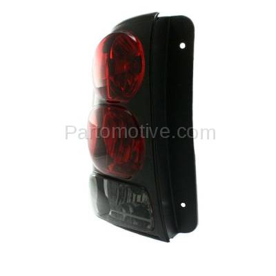 Aftermarket Auto Parts - TLT-1041LC CAPA 02-09 Trailblazer Taillight Taillamp Light Lamp W/Circuit Board Driver Side - Image 2