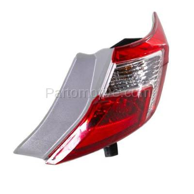 Aftermarket Auto Parts - TLT-1658RC CAPA 12-13 Camry & Hybrid Taillight Taillamp Brake Light Lamp Passenger Side RH - Image 2