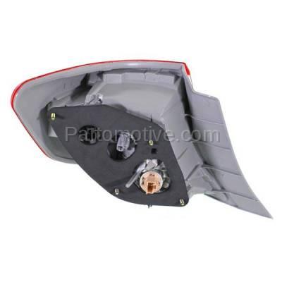 Aftermarket Auto Parts - TLT-1658RC CAPA 12-13 Camry & Hybrid Taillight Taillamp Brake Light Lamp Passenger Side RH - Image 3