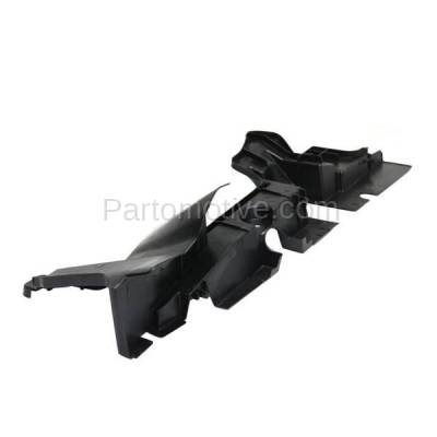 Aftermarket Replacement - RSP-1762L 2014-2016 Toyota Highlander (LE, LE Plus, Limited, XLE) Front Radiator Support Side Air Deflector Primed Made of Plastic Left Driver Side - Image 2