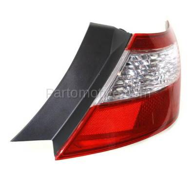 Aftermarket Auto Parts - TLT-1375RC CAPA 09-11 Civic Coupe Taillight Taillamp Rear Brake Light Lamp Passenger Side - Image 2