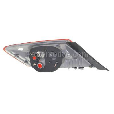 Aftermarket Auto Parts - TLT-1375RC CAPA 09-11 Civic Coupe Taillight Taillamp Rear Brake Light Lamp Passenger Side - Image 3