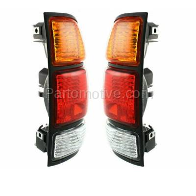 Aftermarket Replacement - TLT-1637L & TLT-1637R 00-04 Tundra Truck Taillight Taillamp Brake Light Lamp Left Right Side Set PAIR - Image 2