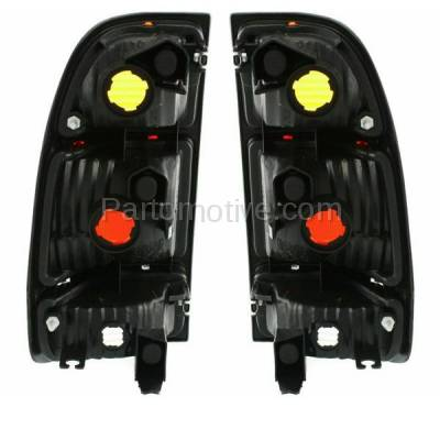 Aftermarket Replacement - TLT-1637L & TLT-1637R 00-04 Tundra Truck Taillight Taillamp Brake Light Lamp Left Right Side Set PAIR - Image 3