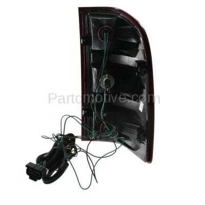 Aftermarket Auto Parts - TLT-1309LC CAPA Silverado Sierra Truck Taillight Taillamp Rear Brake Light Lamp Driver Side - Image 3