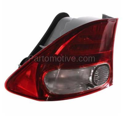 Aftermarket Auto Parts - TLT-1376LC CAPA 09-11 Civic Sedan Taillight Taillamp Rear Brake Light Lamp Driver Side LH - Image 2