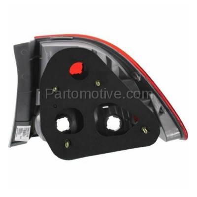 Aftermarket Auto Parts - TLT-1376LC CAPA 09-11 Civic Sedan Taillight Taillamp Rear Brake Light Lamp Driver Side LH - Image 3
