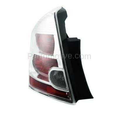 Aftermarket Auto Parts - TLT-1303LC CAPA 07-09 Sentra 2.0L Taillight Taillamp Rear Brake Light Lamp Driver Side LH - Image 2