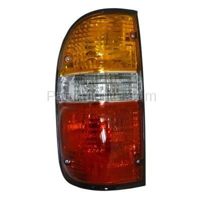 Aftermarket Auto Parts - TLT-1002LC CAPA 01-04 Tacoma Pickup Truck Taillight Taillamp Brake Light Lamp Driver Side L - Image 1