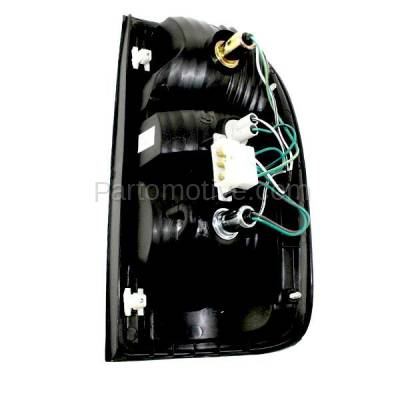Aftermarket Auto Parts - TLT-1002LC CAPA 01-04 Tacoma Pickup Truck Taillight Taillamp Brake Light Lamp Driver Side L - Image 3
