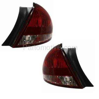 Aftermarket Auto Parts - TLT-1093LC & TLT-1093RC CAPA 04-07 Taurus Sedan Taillight Taillamp Brake Light Lamp Left Right Set PAIR - Image 2