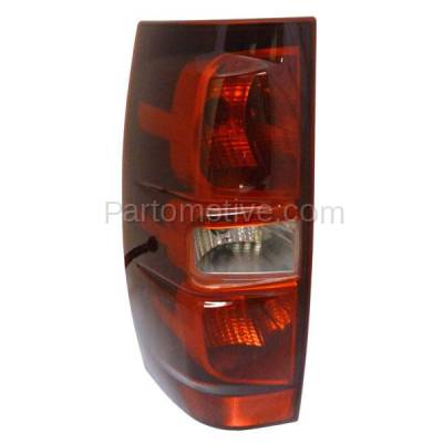 Aftermarket Auto Parts - TLT-1314LC CAPA 07-13 Tahoe Suburban Taillight Taillamp Rear Brake Light Lamp Driver Side L - Image 1