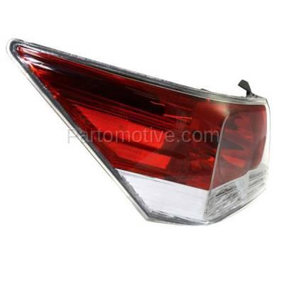 Aftermarket Auto Parts - TLT-1379LC CAPA 08-12 Accord Sedan Taillight Taillamp Rear Brake Light Lamp Driver Side LH - Image 2