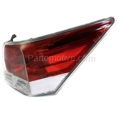 Aftermarket Auto Parts - TLT-1379RC CAPA 08-12 Accord Sedan Taillight Taillamp Rear Brake Light Lamp Passenger Side - Image 2