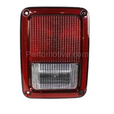 Aftermarket Auto Parts - TLT-1406RC CAPA 07-13 Wrangler Taillight Taillamp Rear Brake Light Lamp Passenger Side RH - Image 1