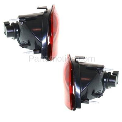Aftermarket Replacement - TLT-1617L & TLT-1617R 10-13 Camaro Taillight Taillamp OUTER Brake Light Lamp Left Right Side Set PAIR - Image 2