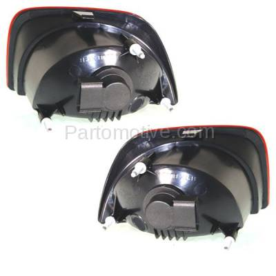Aftermarket Replacement - TLT-1617L & TLT-1617R 10-13 Camaro Taillight Taillamp OUTER Brake Light Lamp Left Right Side Set PAIR - Image 3