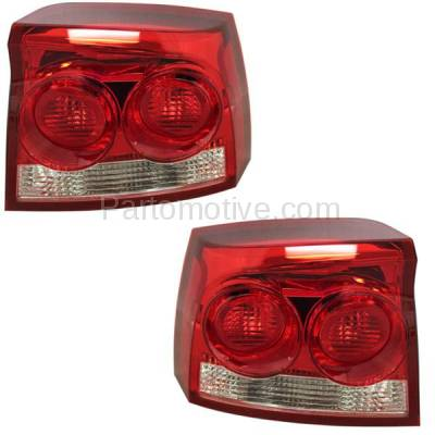 Aftermarket Auto Parts - TLT-1599LC & TLT-1599RC CAPA 09-10 Charger Taillight Taillamp Rear Brake Light Lamp Left Right Set PAIR - Image 1