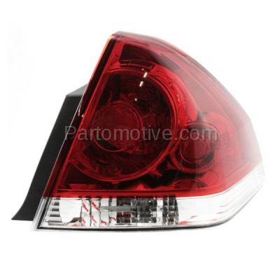 Aftermarket Auto Parts - TLT-1228RC CAPA 06-13 Chevy Impala Taillight Taillamp Rear Brake Light Lamp Passenger Side - Image 1