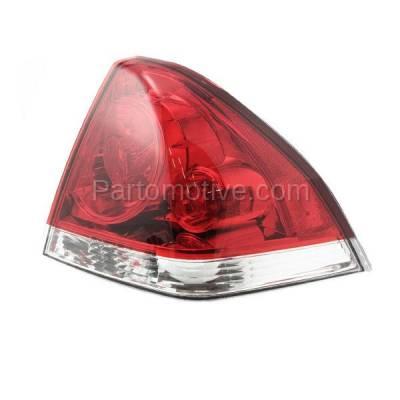 Aftermarket Auto Parts - TLT-1228RC CAPA 06-13 Chevy Impala Taillight Taillamp Rear Brake Light Lamp Passenger Side - Image 2