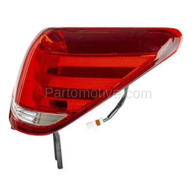 Aftermarket Auto Parts - TLT-1284RC CAPA 05-07 Avalon Taillight Taillamp Rear Brake Outer Light Lamp Passenger Side - Image 2