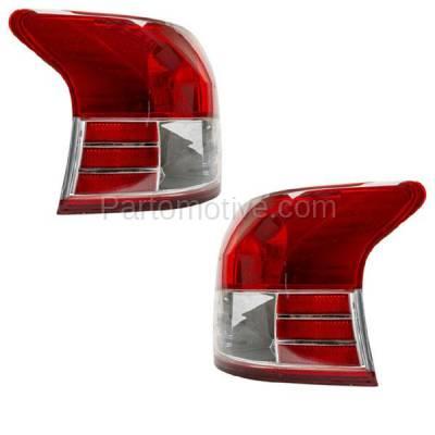 Aftermarket Auto Parts - TLT-1328LC & TLT-1328RC CAPA 06-12 Yaris Sedan Taillight Taillamp Brake Light Lamp Left & Right Set PAIR - Image 2