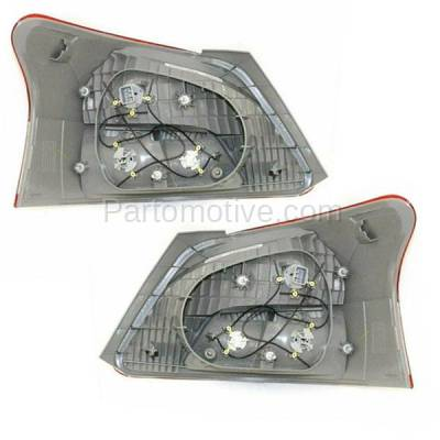 Aftermarket Auto Parts - TLT-1328LC & TLT-1328RC CAPA 06-12 Yaris Sedan Taillight Taillamp Brake Light Lamp Left & Right Set PAIR - Image 3