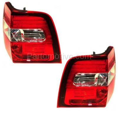 Aftermarket Auto Parts - TLT-1348LC & TLT-1348RC CAPA 07-13 Expedition Taillight Taillamp Brake Light Lamp Left & Right Set PAIR - Image 2