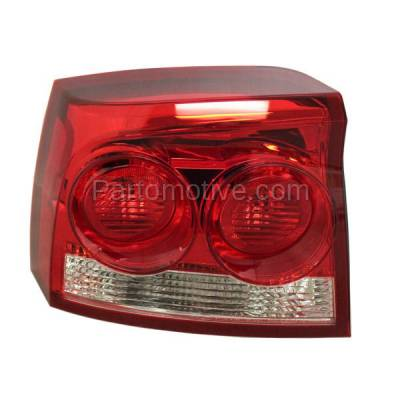 Aftermarket Auto Parts - TLT-1599LC CAPA 09-10 Dodge Charger Taillight Taillamp Rear Brake Light Lamp Driver Side LH - Image 1