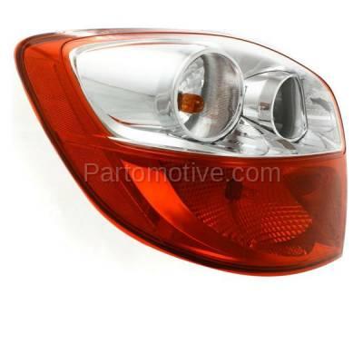 Aftermarket Auto Parts - TLT-1605LC CAPA 09-13 Toyota Matrix Taillight Taillamp Rear Brake Light Lamp Driver Side LH - Image 2