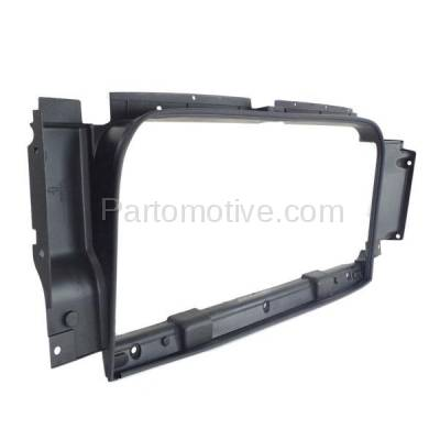 Aftermarket Replacement - RSP-1301 2014-2018 Chevrolet Silverado 1500 Pickup Truck (Standard, Extended, Crew Cab) Front Radiator Support Frame Surround Seal Plastic - Image 2