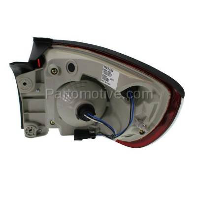 Aftermarket Auto Parts - TLT-1607LC CAPA 08-12 Buick Enclave Taillight Taillamp Rear Brake Light Lamp Driver Side L - Image 3