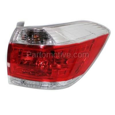 Aftermarket Auto Parts - TLT-1647RC CAPA 11-13 Highlander Taillight Taillamp Rear Brake Light Lamp Passenger Side R - Image 2