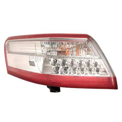 Aftermarket Auto Parts - TLT-1657LC CAPA 10-11 Camry Hybrid Taillight Taillamp Rear Brake Light Lamp Driver Side LH - Image 1