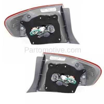 Aftermarket Auto Parts - TLT-1396LC & TLT-1396RC CAPA 09-10 Corolla Taillamp Taillight Rear Brake Light Lamp Left Right Set PAIR - Image 3