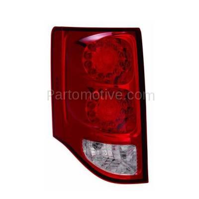 Aftermarket Auto Parts - TLT-1597LC CAPA 11-13 GR. Caravan Taillight Taillamp LED Brake Light Lamp Driver Side LH - Image 1