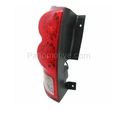 Aftermarket Auto Parts - TLT-1597LC CAPA 11-13 GR. Caravan Taillight Taillamp LED Brake Light Lamp Driver Side LH - Image 2