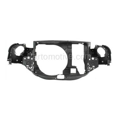 Aftermarket Replacement - RSP-1553 2002-2008 Mini Cooper (Convertible & Hatchback 2-Door) (1.6 Liter Engine) Front Center Radiator Support Core Assembly Primed Plastic - Image 1
