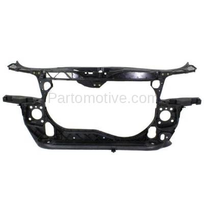 Aftermarket Replacement - RSP-1014 2002-2005 Audi A4 (Base & Avant) Sedan & Wagon 1.8L Front Center Radiator Support Core Assembly Primed Made of Plastic with Steel - Image 1