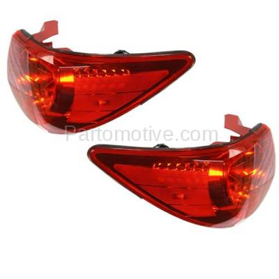 Aftermarket Auto Parts - TLT-1608LC & TLT-1608RC CAPA 09-12 Traverse Taillight Taillamp Rear Brake Light Lamp Left Right Set PAIR - Image 2