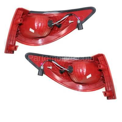 Aftermarket Auto Parts - TLT-1608LC & TLT-1608RC CAPA 09-12 Traverse Taillight Taillamp Rear Brake Light Lamp Left Right Set PAIR - Image 3