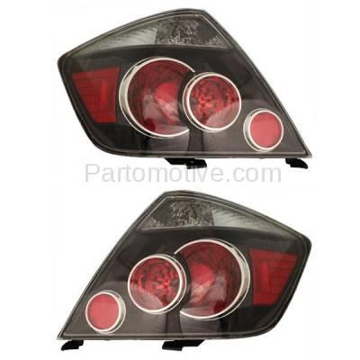 Aftermarket Replacement - TLT-1603L & TLT-1603R 07-10 Scion tC T C Taillight Taillamp Brake Light Lamp Left Right Side Set PAIR - Image 1