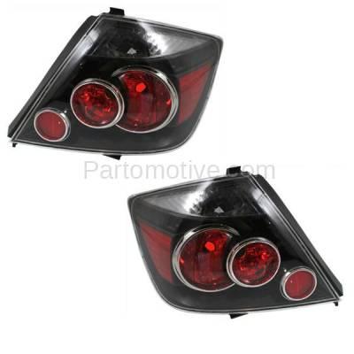Aftermarket Replacement - TLT-1603L & TLT-1603R 07-10 Scion tC T C Taillight Taillamp Brake Light Lamp Left Right Side Set PAIR - Image 2