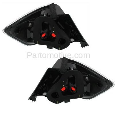 Aftermarket Replacement - TLT-1603L & TLT-1603R 07-10 Scion tC T C Taillight Taillamp Brake Light Lamp Left Right Side Set PAIR - Image 3