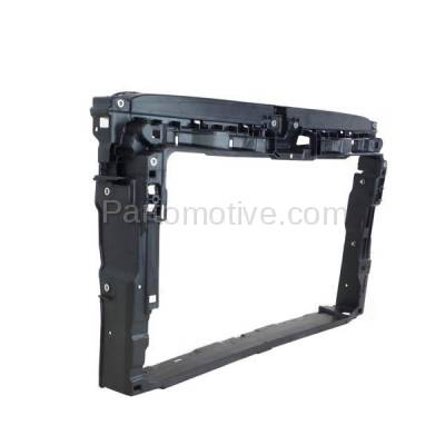 Aftermarket Replacement - RSP-1838 2015-2018 Volkswagen VW e-Golf (Hatchback 4-Door) (Electric) Front Center Radiator Support Core Assembly Primed Made of Plastic - Image 2