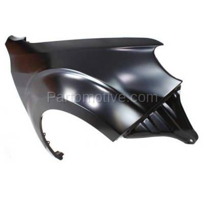 Aftermarket Replacement - FDR-1326RC CAPA 2009-2013 Subaru Forester (2.5 Liter H4 Engine) Front Fender Quarter Panel (without Molding Holes) Primed Steel Right Passenger Side - Image 2