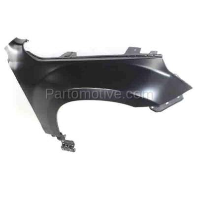 Aftermarket Replacement - FDR-1371RC CAPA 2006-2013 Suzuki Grand Vitara (2.4 & 2.7 & 3.2 Liter Engine) Front Fender Quarter Panel Steel (without Side Lamp Hole) Right Passenger Side - Image 3