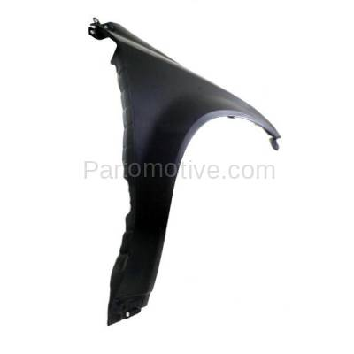 Aftermarket Replacement - FDR-1511RC CAPA 2003-2007 Nissan Murano (3.5 Liter V6 Engine) Front Fender Quarter Panel (without Molding Holes) Primed Steel Right Passenger Side - Image 3