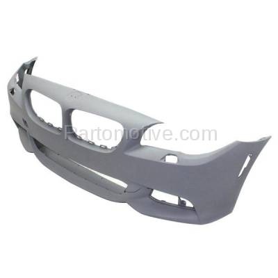 Aftermarket Replacement - BUC-1155FC CAPA 11-14 5-Series Front Bumper Cover Assy w/ M Package BM1000254 51118048670 - Image 2