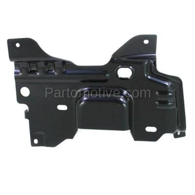 Aftermarket Replacement - BBK-1142R 2009-2014 Ford F150 Lightduty Pickup Truck Front Bumper Face Bar Retainer Mounting Plate Brace Bracket Made of Steel Right Passenger Side - Image 3
